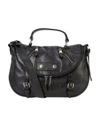 Alexander McQueen | Black Faithful Small Leather Satchel | Lyst