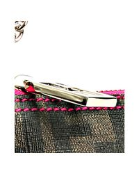 Fendi - Brown Tobacco Quilted Zucca Fabric Forever Baguette - Lyst