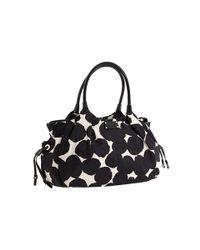 Kate Spade | Black Stevie Splodge Dot Baby Bag | Lyst
