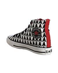 Converse - Black Arrow Canvas High-top Sneakers - Lyst