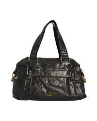 Kooba   Black Leather Samantha Shoulder Bag   Lyst