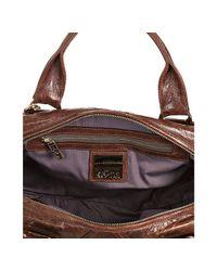 Kooba | Brown Bourbon Leather Hadley Convertible Satchel | Lyst
