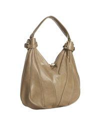 Kooba | Natural Celadon Leather Dakota Piped Seams Hobo Bag | Lyst