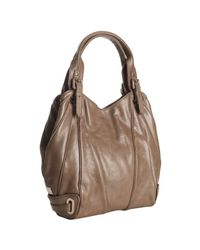 Kooba | Brown Mocha Leather Lindsey Seamed Tote Bag | Lyst