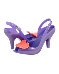 Vivienne Westwood | Purple Violet Lady Dragon Heart Slingback | Lyst