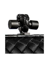 Bottega Veneta | Black Woven Leather Clutch | Lyst