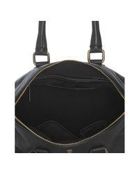 Céline - Black Deerskin Padlock Top Handle Bag - Lyst