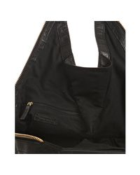 Givenchy | Black Croc Embossed Leather Moyen Tinhan Hobo | Lyst