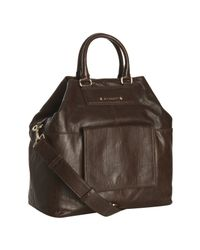 Givenchy | Brown Leather Large Buggatti Tote | Lyst