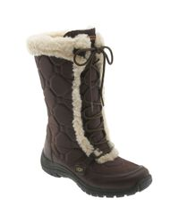 UGG | Brown Capstone Boot | Lyst