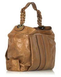 Chloé - Natural Heloise Leather Hobo Bag - Lyst