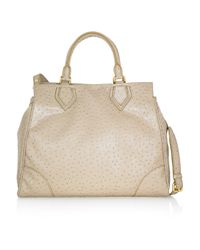 Marc By Marc Jacobs Natural Ostrich Optic Tote