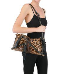 Christian Louboutin - Multicolor Trophe Medium Leopard Print Bag - Lyst