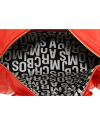 Marc By Marc Jacobs - Orange Totally Turnlock Lil Shifty Leather Satchel - Lyst