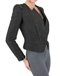 Viktor & Rolf - Black Tuxedo Suiting Jacket - Lyst