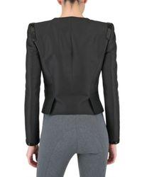 Viktor & Rolf Black Tuxedo Suiting Jacket