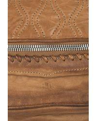 Alexander Wang | Brown Brady Leather Football Clutch | Lyst