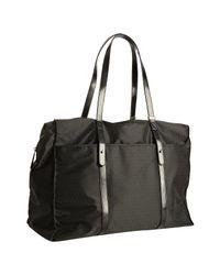 Fendi | Black Zucchino Nylon Travel Bag | Lyst