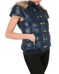 Beayukmui - Blue Short Sleeves Down Jacket - Lyst