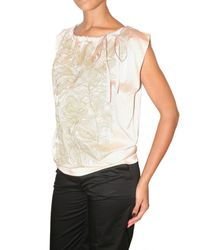 Just In Case - Pink Embroidered Silk Satin Top - Lyst
