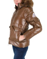 Pyrenex - Brown Murmansky Fur Hooded Down Jacket - Lyst