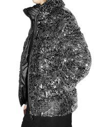Pyrenex - Metallic Glitter Down Jacket - Lyst