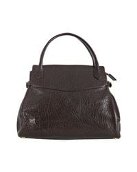 Marc Jacobs | Brown Camille Cracked Leather Tote | Lyst