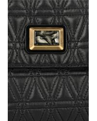 Marc By Marc Jacobs Black Party Foret Quilted Shoulder Bag