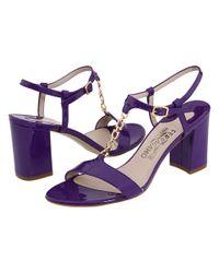 Ferragamo - Purple Duchessa - Lyst