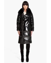 Pyrenex | Black New Gang Fur Coat | Lyst