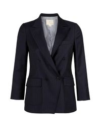 Boy by Band of Outsiders | Black Cropped Cutaway Jacket/blazer | Lyst