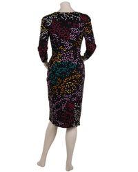Issa - Black Short Dress - Lyst