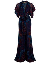 Issa | Multicolor Kimono Dress | Lyst