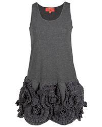 Manoush | Gray Sleeveless Tank Dress | Lyst