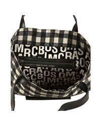 Marc By Marc Jacobs - Black Checkered Nylon Miss Marc Pocket Tote - Lyst