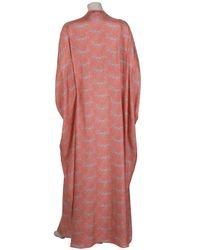 Paul & Joe - Pink Germain Silk Kaftan Gown - Lyst