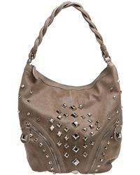 Temperley London | Brown Cirque Studded Leather Hobo | Lyst