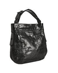 Givenchy | Black Pandora Box Snake-skin Shoulder Bag | Lyst