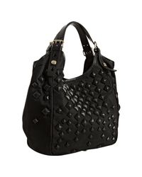 Givenchy | Black Sacca Studded Shoulder Bag | Lyst