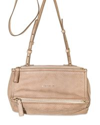 Givenchy | Natural Mini Pandora Lamb Shoulder Bag | Lyst