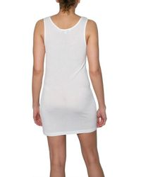 Jonathan Saunders - White Floral Mosaic Tank Top - Lyst