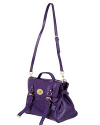 Mulberry | Purple Oversized Alexa Leather Bag | Lyst
