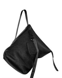 Rick Owens | Black Heavy Buffalo Shoulder Bag | Lyst