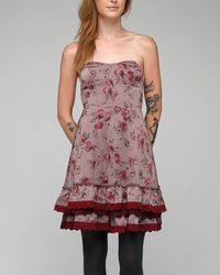 Free People - Red Dirty Dancing Dress - Lyst
