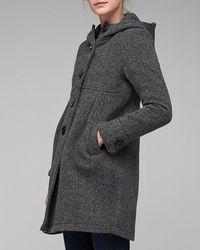 Spiewak - Gray Van Burren Coat - Lyst
