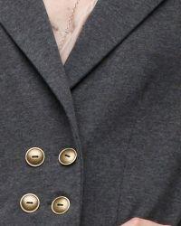 Tulle | Gray Military Blazer | Lyst