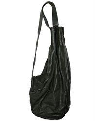 A Diciannoveventitre   Black Horseskin Backpack Shoulder Bag for Men   Lyst