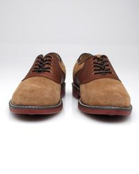G.H. Bass & Co. - Brown Suede Saddle for Men - Lyst