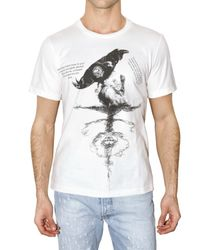Dead Meat - White Crow Jersey Tail Coat Style T-shirt for Men - Lyst