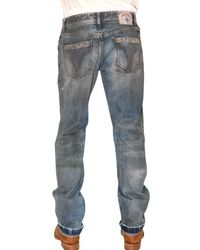 Dolce & Gabbana - Blue 22 Cm Hem Leader Stud Denim Jeans for Men - Lyst